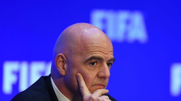 FIFA president Gianni Infantino has said VAR will likely be in use at this summer's World Cup