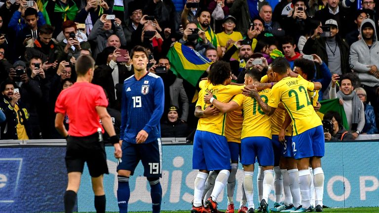 Mourinho has tipped Brazil to do well in Russia this summer