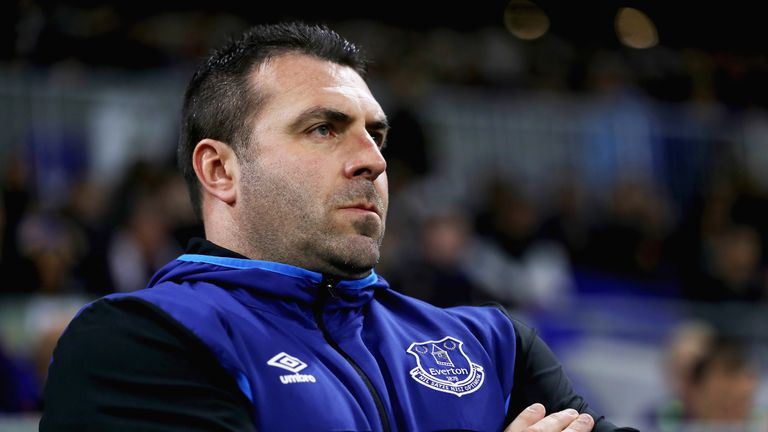 Unsworth has been in caretaker charge at Everton since Ronald Koeman's sacking