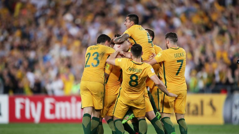 Australia are through to their fourth straight World Cup finals
