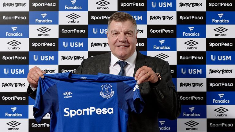 Sam Allardyce signs 18-month deal as new Everton manager | Football News | Sky Sports