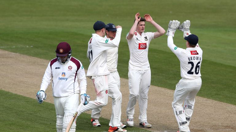 George Garton has impressed Dominic Cork in county cricket