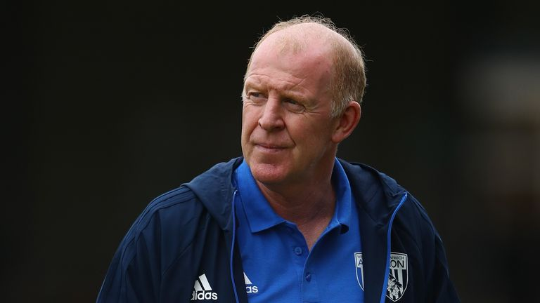 Gary Megson has left West Brom following Pardew's appointment