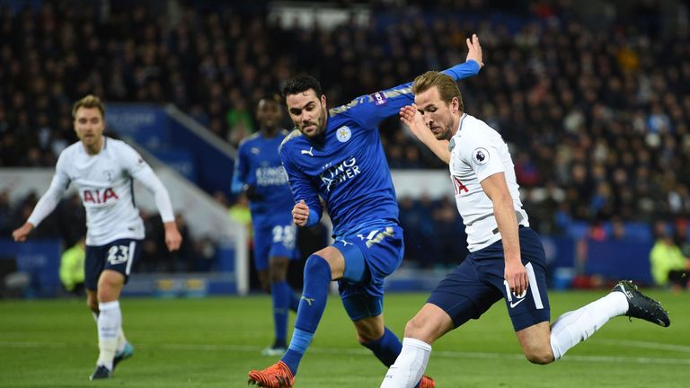 Vicente Iborra put in a commanding performance as Leicester frustrated Spurs at the King Power