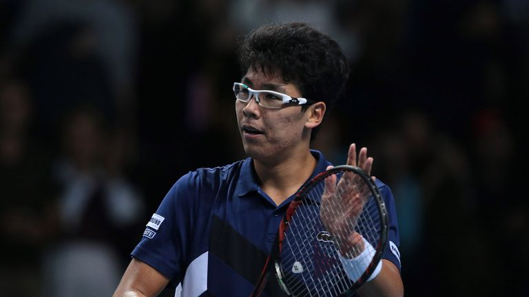 Chung won the ATP NextGen finals in Milan