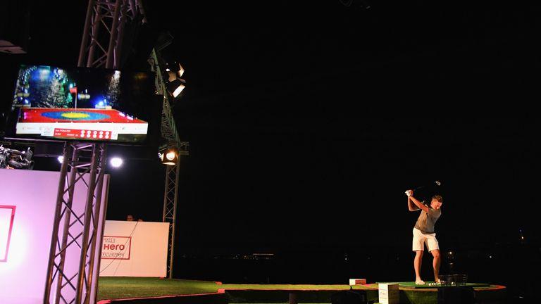 Ian Poulter enjoyed taking part in the Hero Challenge in Dubai