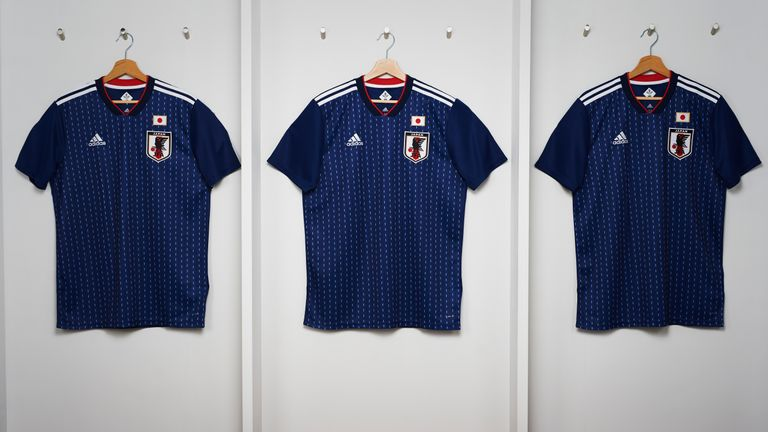 Japan's World Cup home shirt