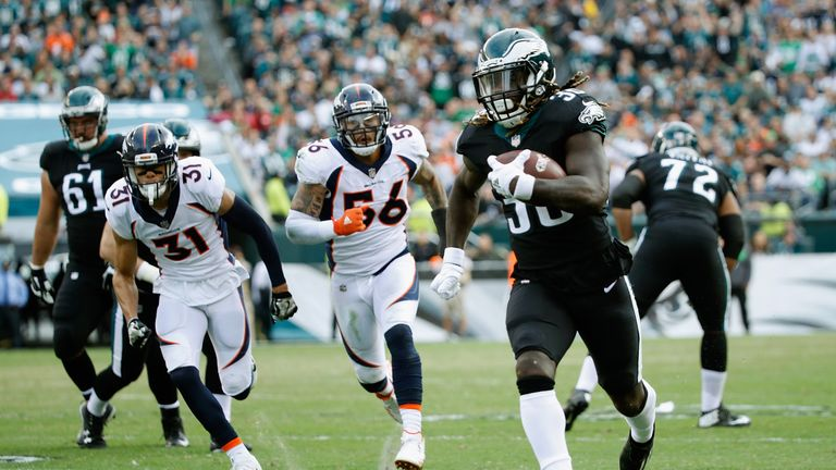 Could 2018 be the year British-born running back Jay Ajayi helps the Philadelphia Eagles to the Super Bowl