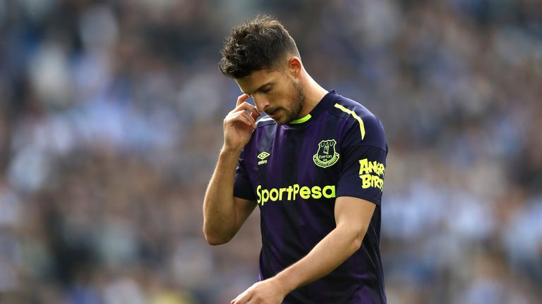 Mirallas spent over five years at Goodison Park