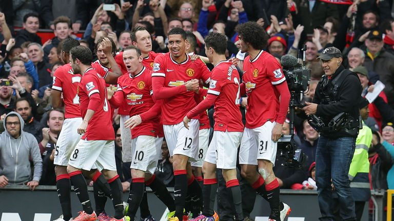 Manchester United made more changes to their line-up than any other Premier League club during 2014/15