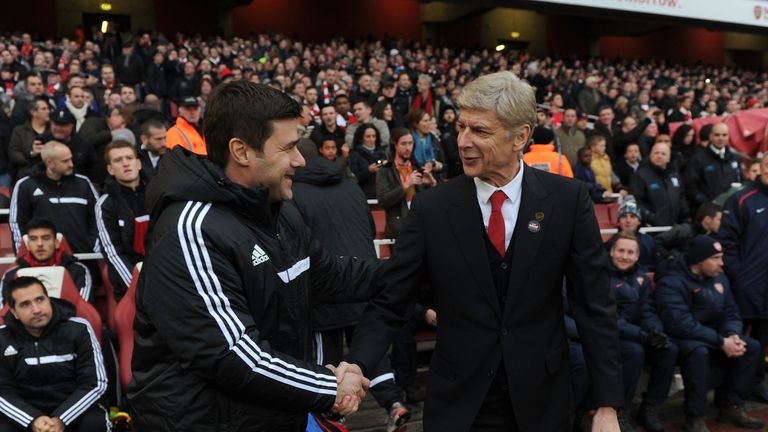 Mauricio Pochettino and Arsene Wenger clash on Saturday, live on Sky Sports Premier League