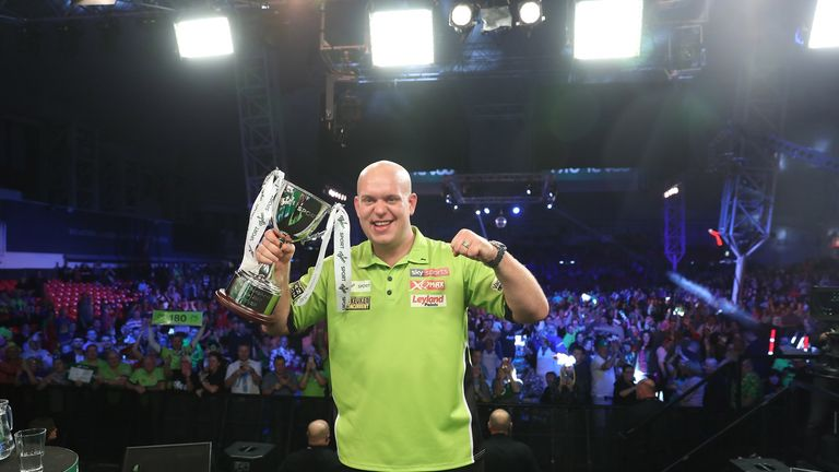 Michael van Gerwen was a dominant winner again, claiming a fourth Players Championship title in five years