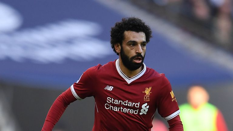 Mohamed Salah is a doubt for Liverpool after picking up an injury
