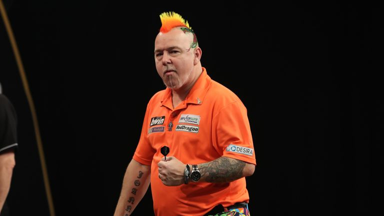 Peter Wright claimed his first major title in 2017 with victory at the UK Open