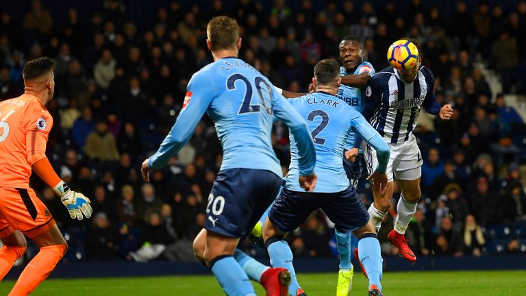 Hal Robson-Kanu opens the scoring at The Hawthorns