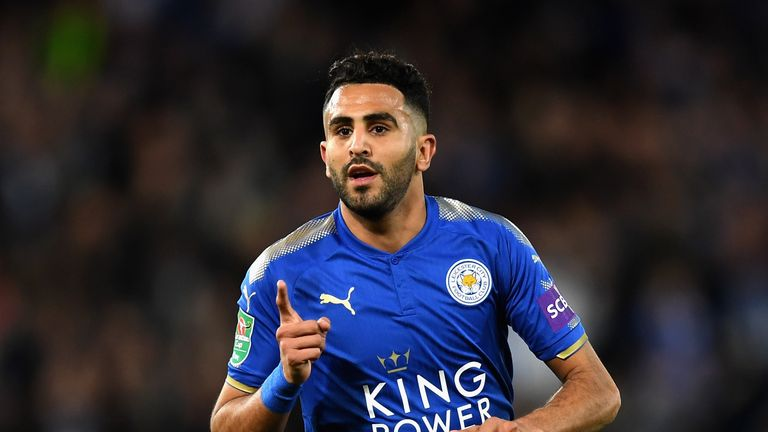 Riyad Mahrez could leave Leicester next summer