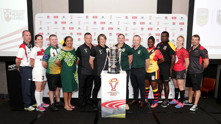 Six nations will compete for the Women's World Cup