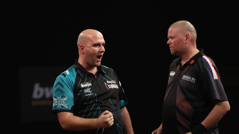 Rob Cross represents a charging new breed in his debut year while the crowd will welcome Barney with open arms