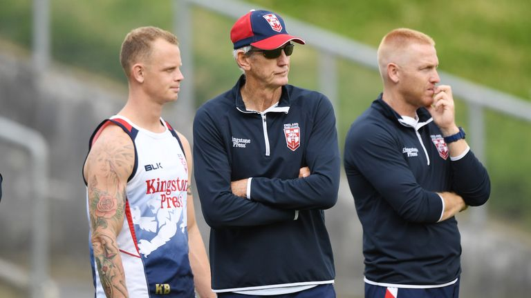 England coach Wayne Bennett believes his side won't beat Australia in final
