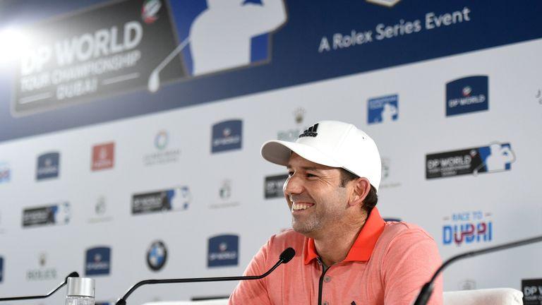 Garcia is third on the Race to Dubai
