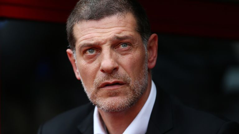 Slaven Bilic became the first Premier League managerial casualty in November this year