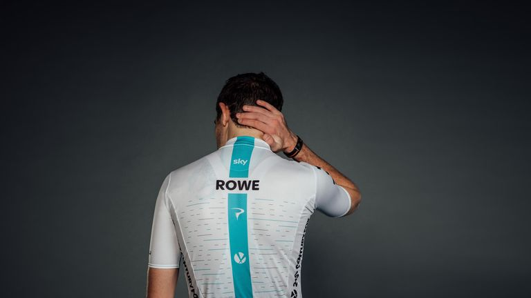 Team Sky unveil their new kit for the 2018 season