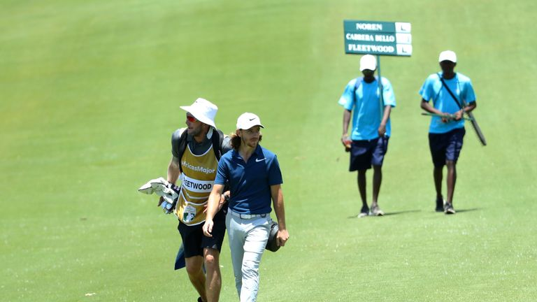 Snake versus Moongoose at the NedBank Challenge