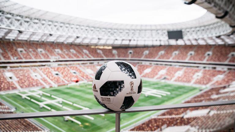 Adidas unveil 2018 World Cup ball