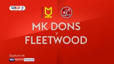 MK Dons 1-0 Fleetwood