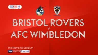 Bristol Rovers 1-3 AFC Wimbledon