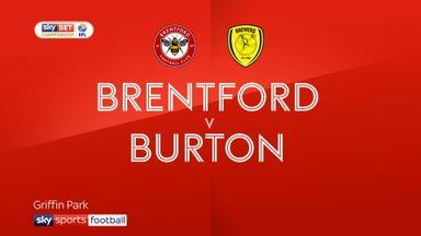 Brentford 1-1 Burton