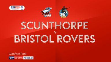 Scunthorpe 1-0 Bristol Rovers