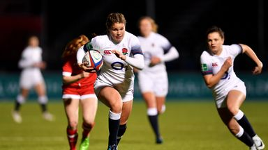 Jessica Breach made an astonishing debut for England Women on Friday