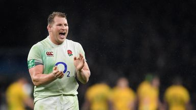 Dylan Hartley skippered England to their fifth successive win over Australia