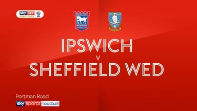 Ipswich 2-2 Sheffield Wed