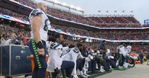 Trump unhappy with NFL anthem rules