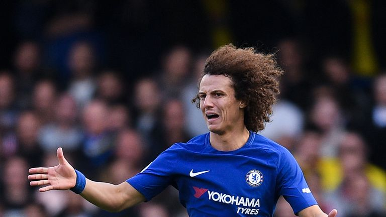 David Luiz rejoined Chelsea in the summer of 2016 from PSG