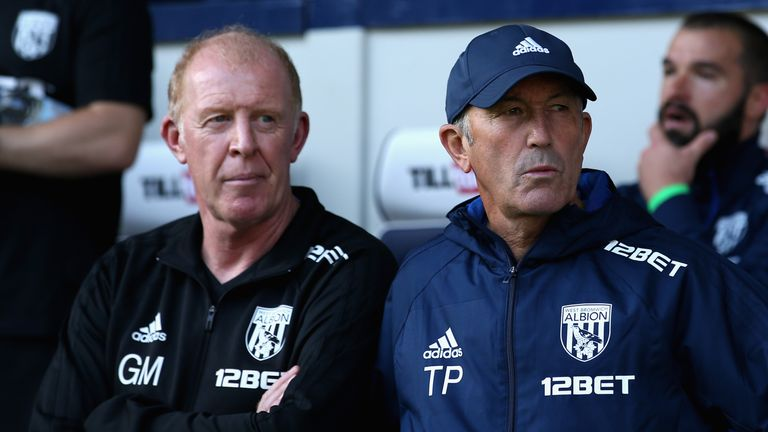 Gary Megson has ruled out taking over from Tony Pulis on a permanent basis