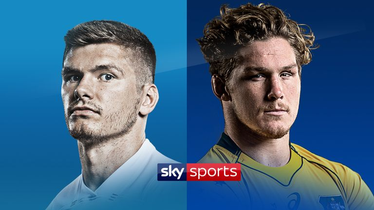 England face Australia live on Sky Sports this Saturday