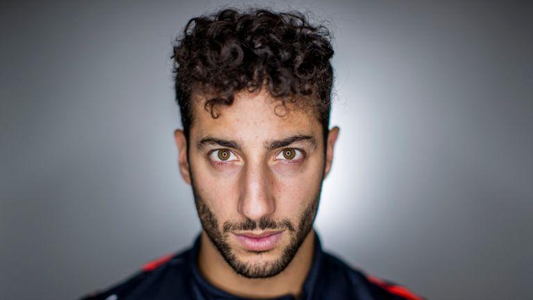 It's Daniel Ricciardo...but not as you have heard him before