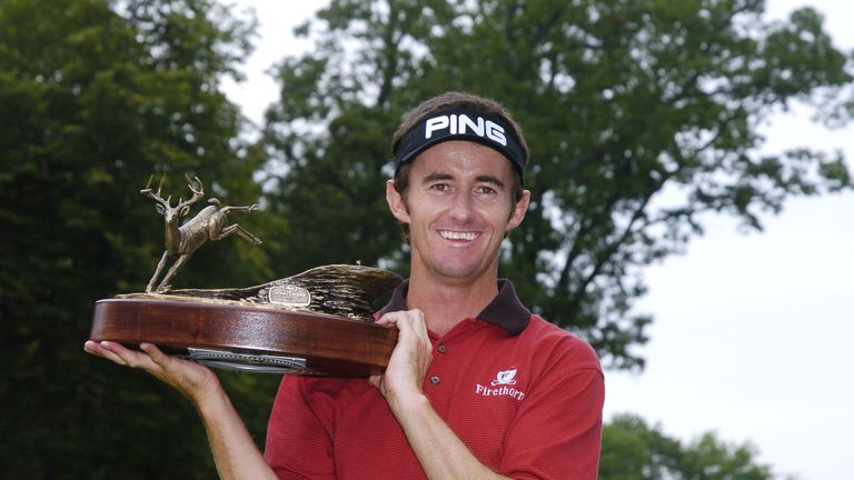 Hensby's sole victory on the PGA Tour came at the John Deere Classic in July 2004