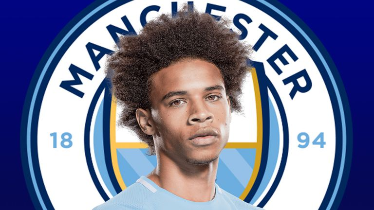 Leroy Sane is starring for Manchester City but was made at Schalke