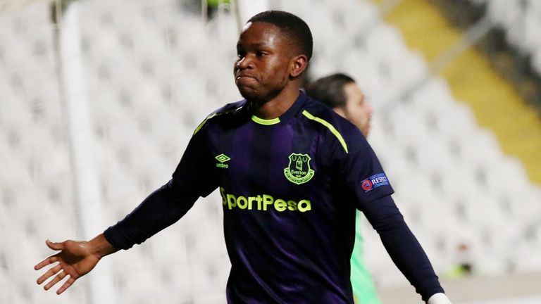 Ademola Lookman's double sent Everton on their way in Cyprus