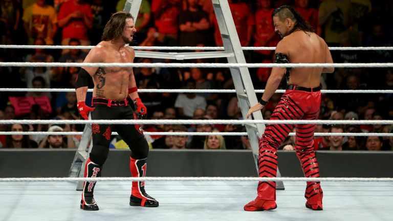AJ Styles against Shinsuke Nakamura is a dream match for many WWE fans