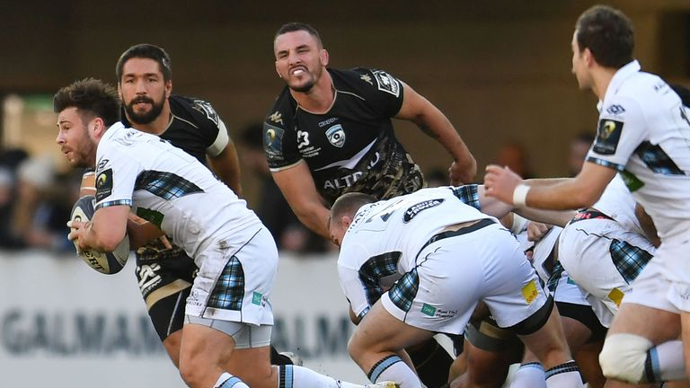 Glasgow currently top Conference A in the Guinness PRO14 but crashed out of the European Champions Cup at the pool stage