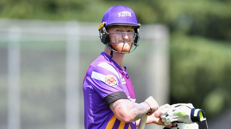 Stokes played for New Zealand side Canterbury Kings as their overseas player