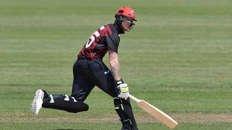 Ben Stokes out cheaply on debut for Canterbury