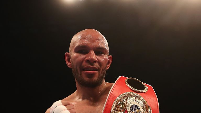 Truax is the latest IBF super-middleweight world champion