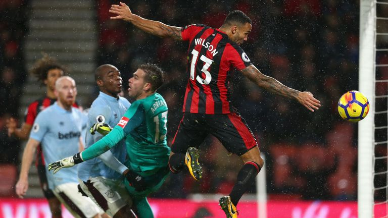 Wilson has scored seven goals for Bournemouth in the Premier League this season