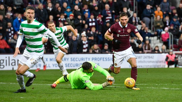 Hearts end Celtic's 69-game unbeaten domestic run in emphatic style
